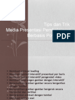Tips & Trik Media Berbasis PPoint