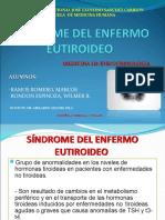 Enfermo eutiroideo