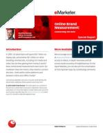 eMarketer Online Brand Measurement Report