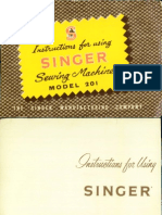 Singer 201 Later Model