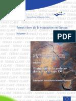 La Profesion Docente en Europa Siglo XXI