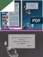 Programa de Conservacion y Manejo_IslasMarias