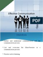 Effective Communication Latest