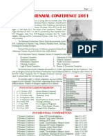 PYF 19 Biennial Conference 2011 Bulletin