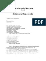 Vinicius de Moraes - Teatro - Orfeu da Conceição
