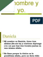 Daniela Minombre y Yo