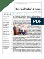 Hidrocarburos Bolivia Informe Semanal Del 25 Abril Al 01 Mayo 2011