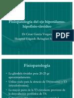 Fisiopatología del eje hipotálamo-hipofisio-tiroideo