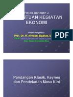 EKONOMI MAKRO-3 Kegiatan Ekonomi