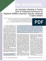 ADA - Registered Dietitians