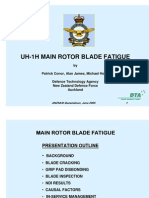UH-1H Main Rotor Blade Fatigue
