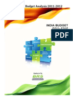 Analysis of India Budget 2011-2012