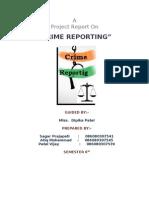 Crime Reporting Report File2007