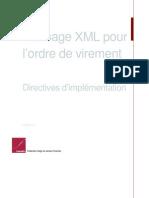 Message XML Pour l Ordre de Virement