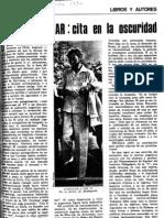 Cortázar entrevistado por Skármeta en revista Ercilla