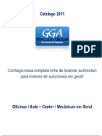 Catálogo 2011 Scanner, Linha automotiva