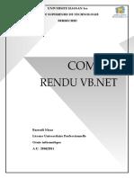 Compte Rendu-vb