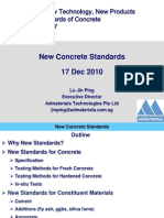 New Concrete Standards