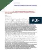 Tesis Pengaruh Kompetensi Sumber Daya Manusia Terhadap Kinerja Pt