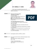 My Resume 4Jul10