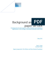Background and Action Paper on OER (1st Edition)