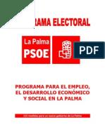 Programa Electoral PSC PSOE La Palma 2011