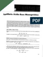 Equilibrio Acido Base Monoprotico
