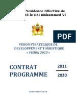 Contrat Prog Tourizm VISION 2020