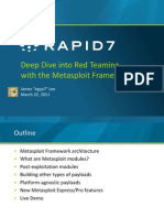 Deep Dive Into Red Teaming With the it Framework