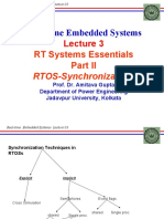 REAL TIME EMBEDDED SYSTEM_Lecture 03