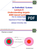 REAL TIME EMBEDDED SYSTEM_Lec5
