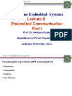 REAL TIME EMBEDDED SYSTEM_Lec6