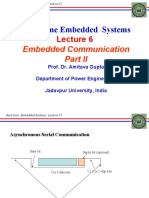 REAL TIME EMBEDDED SYSTEM_Lec07