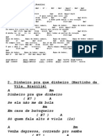 Gitaarakkoorden en Teksten CD 12 Brasil