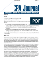 CPA Journal-Continuous Auditing
