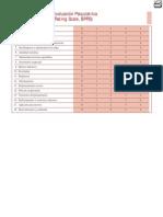 Escala Breve de Evaluación Psiquiátrica