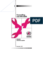 Counselling and Hiv Aids
