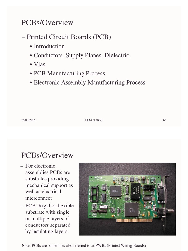Pcb Manufacturing1 Printed Circuit Board Materials Manufacturing Process The