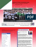 AmeriCorps NCCC Atlantic Region Quarterly April, May, June