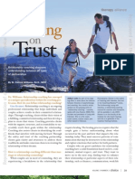 Building on Trust