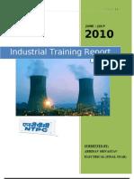 Ind. Training Report- NTPC DADRI