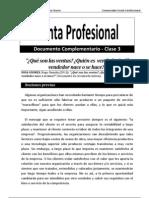 Venta Profesional (Documento Complementario Clase 3)