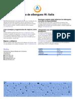 HI Guia de Albergues Juveniles Italia