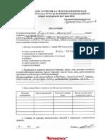 Declaratia Venit Valerii Klimenco 2011