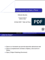 Configuración Plone - Zope