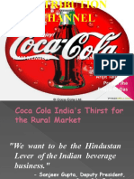 Cocacola Distribution Channel