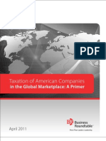 Taxation of American Companies in the Global Marketplace