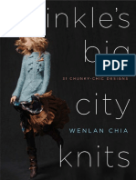 Free Pattern - Feather Scarf from Twinkle's Big City Knits by Wenlan Chia