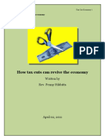 bmme how taxes cuts can revive the economy