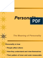 6. Personality